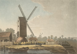 View of Mr Metcalf's mill near Bromley